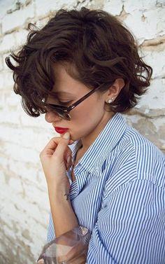 nice Стильная укладка на короткие волосы 2017 — Меняйся и будь в тренде! (50 фото)