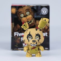 Five Nights at Freddy's Mystery Minis - Freddy Springtrap Hot Topic Exclusive