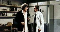 Robot: Season 12 Serial 1 | The 4th Doctor (Tom Baker) and Harry Sullivan (Ian Marter)