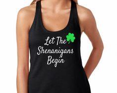 Shenanigans Begin Here Shirt. Shenanigans shirt. Funny Mens
