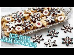 Bake With Anna Olson TV Show recipes on Food Network Canada; your exclusive source for the latest Bake With Anna Olson recipes and cooking guides. Best Christmas Cookies, Holiday Cookies, Holiday Treats, Christmas Treats, Christmas Recipes, Icebox Cookies, Jam Cookies, Sugar Cookies, Linzer Cookies