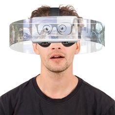 SPHERESPECS son unas gafas de realidad virtual para smartphones que te ofrecen la posibilidad de conseguir una visión 3D además de una vista de 360 °.