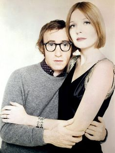 Woody Allen with Diane Keaton.