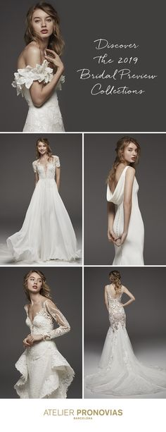 BLOGGED: the 2019 Bridal Preview Collections