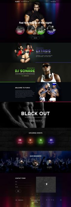 Night Club Responsive Landing Page Template #58312 http://www.templatemonster.com/landing-page-template/night-club-responsive-landing-page-template-58312.html