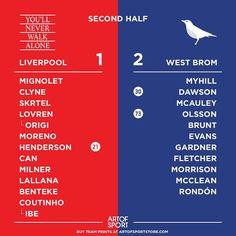 BROM BROM GOALLLLL #lfc #Liverpool #WBA #westbrom