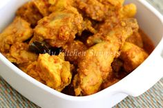 My Kitchen Snippets: Ayam Buah Keras/Candle Nut Chicken