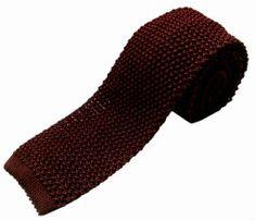 Nick Bronson - Plain Grenat 29 Wine - http://www.liberty.co.uk/fcp/product/Liberty//Burgundy-Knitted-Silk-Tie/91838