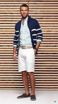 Nautica Spring Summer 2013 Collection - cardigans seem to be in (still)