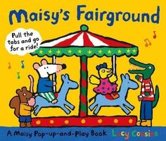Its carnival time for Maisy and her friends! Join the group for rides and games in a novelty adventure boasting a spinning pop-up Ferris wheel. Come one, come all, and take in the bright colors and ex