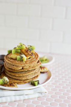Homemade Whole-Grain Protein Pancake Mix