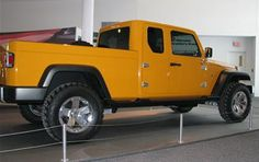 Jeep Wrangler Truck pushed back to 2015, hope the TJ will make it that long.