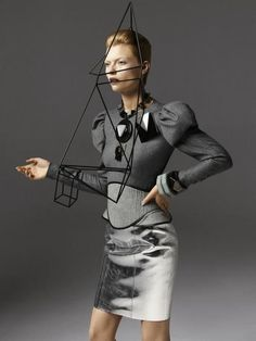 'Robot  Couture' - D Magazine September 2012