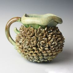 Kate Malone: A Baby Tropical Pine Cone Jug, 2012