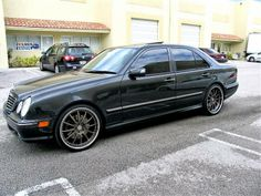 """BENZTUNING: Mercedes-Benz W210 E55 AMG on 360Forged 20"""" Spec M..."""