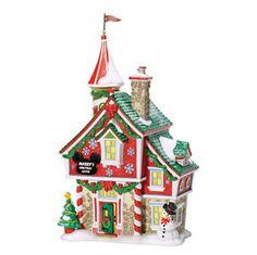 "Item #: 811261  ""Mickey's Christmas Castle""    © Disney  Size: 5.5 x 4 x 8.5""  US Retail:   $41.45 at Amazon"