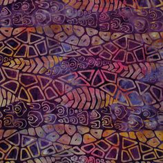 Check out the deal on Fossils by Batik Tambal, Plum at artisticartifacts.com