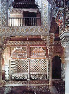 Alhambra de Granada. Sala de Camas. Forma parte de los baños del complejo palacial.