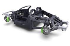 Porsche 918 Spyder chasis
