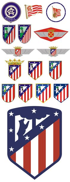 Club Atlético de Madrid At Madrid, Sport Football, Fifa, My Images, Badge, Design, Branches, Football Team, Athlete