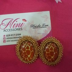 Bello arete en embroidery