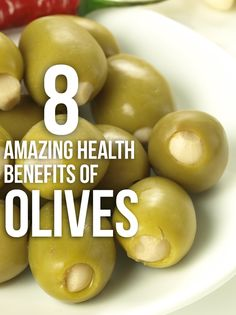 8 Amazing Health Benefits Of Olives