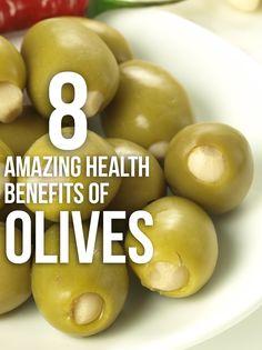 8 Amazing Health Benefits Of Olives