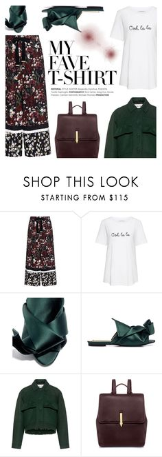 """""""Dress Up a T-Shirt"""" by ifchic ❤ liked on Polyvore featuring Mother of Pearl, Chinti and Parker, N°21, Carven, Karen Walker, contestentry, no21, ifchic and MyFaveTshirt"""