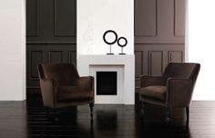 Butaca en terciopelo marrón Home Decor, Velvet, Decoration Home, Room Decor, Interior Decorating