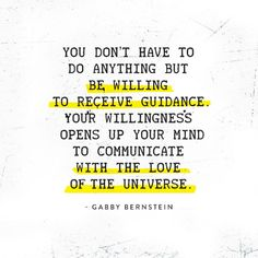 Just be willing. #theuniversehasyourback
