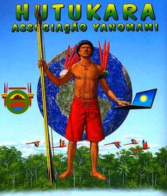Ilustração Sergio Macedo para HQ Povos Indígenas - Yanomamis