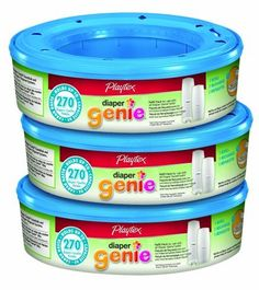 Added to Amazon registry  Playtex Diaper Genie Refill (810 count total - 3 pack of 270 each) by Playtex, http://www.amazon.com/dp/B009TJ3J60/ref=cm_sw_r_pi_dp_89A1rb0A03R7H