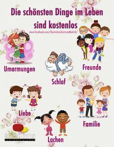 Das Leben ist schön Deutsch Wortschatz Grammatik Alemán German DAF Vocabulario