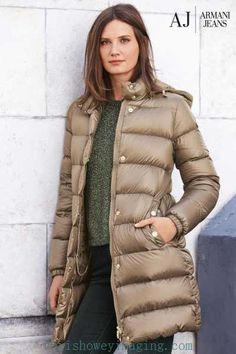 Different Label Armani Jeans Gold Puffer Coat Muh2G7fz1dC 67% off - Women's coats and jackets