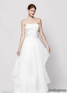 Roses by Reem Acra for Nordstrom Wedding Dresses » WeddingBoard