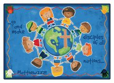 12 Best Great Commission Images Bible Crafts For Kids Sunday