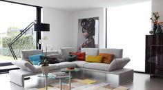 Prachtig ! zwarte Romi Milano @designwonen.com.com