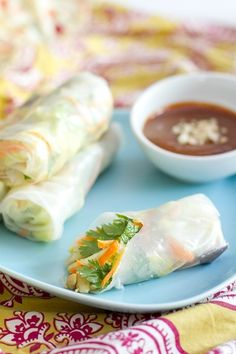Vegetable Spring Rolls | a Couple Cooks