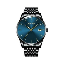 Cheap male male, Buy Quality male strap directly from China male mesh Suppliers: DOM Top Brand Luxury watch men Quartz watch Casual Black quartz-watch stainless steel Mesh strap ultra thin clok male Cheap Watches For Men, Luxury Watches For Men, Cool Watches, Modern Watches, Casual Watches, High End Watches, Mens Watch Brands, Men Watch, Mens Watches Leather