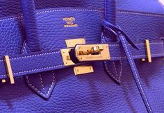 Hermes Birkin Bag - color!