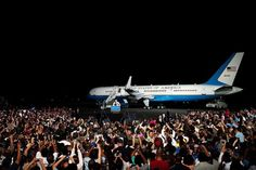 VC-32, B757, can be Air Force One when POTUS travels on board or AF2 when VPOTUS Travels on board