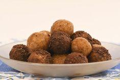 Zdravé vánoční cukroví, ořechové kuličky - Pleva