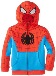 f38b1cf6c39f2 Amazon.com  JEM Little Boys  Spiderman Costume Zip