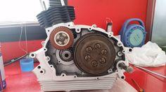 Gilera Giubileo 98 assemblaggio motore -  Motor bike service