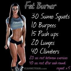 Fat Burner Workout - Fitness Training For Kill Your Body-Fat Abs Training for beginners Training plan Training video Training weightlifting Training women Training workout Best Ab Workout, Abs Workout Routines, Fun Workouts, Workout Fitness, Workout Circuit, Kickboxing Workout, Extreme Workouts, Tabata, Entraînement Boot Camp
