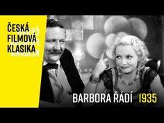 Barbora řádí | celý film | česká filmová klasika - YouTube Video Film, Entertaining, Retro, Videos, Youtube, Movies, Movie Posters, Films, Film Poster