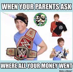 Wrestling Memes, Baseball Cards, Sports, Hs Sports, Sport