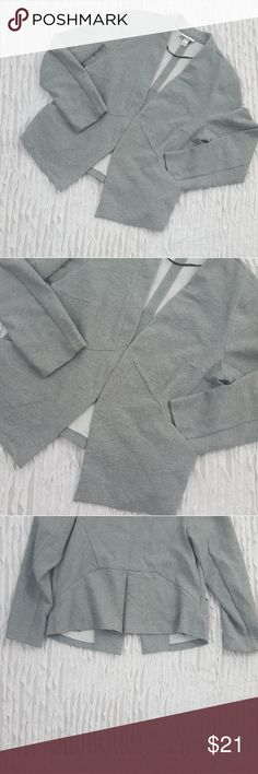 AVA & VIV plus size 1x gray stretch blazer Beautiful plus size blazer. Great condition! Dress it up or wear it casual. Ava & Viv Jackets & Coats Blazers