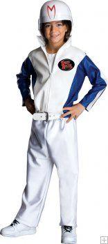 Speed Racer Deluxe Child Racing Suit and Helmet Costume