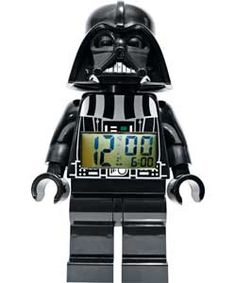 LEGO� Star Wars Darth Vader Figure Alarm Clock.